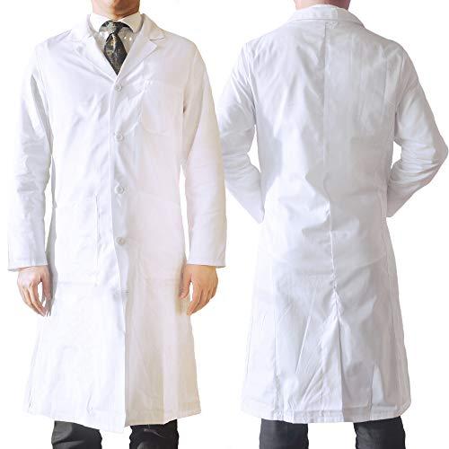 AndroChem Laborkittel - Labormantel (weiß) - als Berufsbekleidung oder hochwertiges Kostüm –...