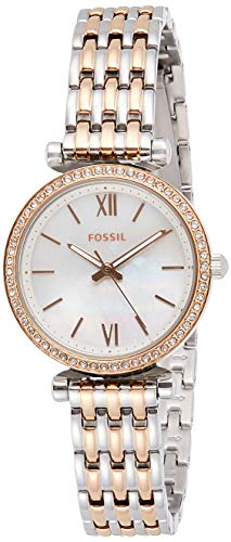 Fossil Orologio Analogico Quarzo Donna con Cinturino in Acciaio Inox ES4649