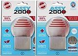 Assy 2000 Assy 2000 - Peine para piojos y lentillas (2 unidades)