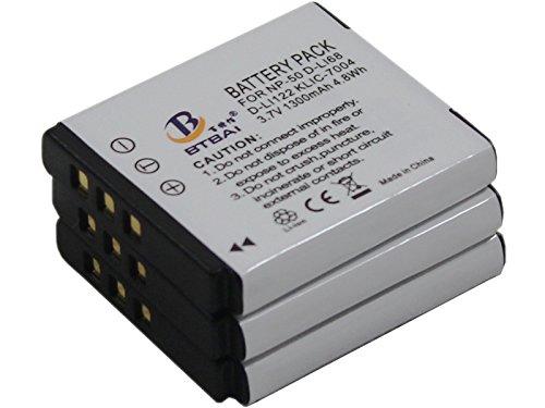 Q // Pentax Optio S12 D-Li68 DLi68 per Pentax Q10 Q7 Caricatore S10 USB//Rete