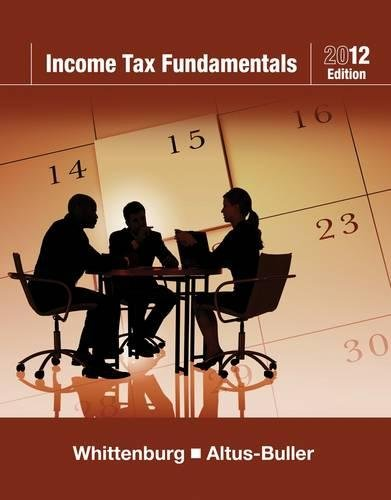 Income Tax Fundamentals 2012 (with H&R BLOCK At Home™...