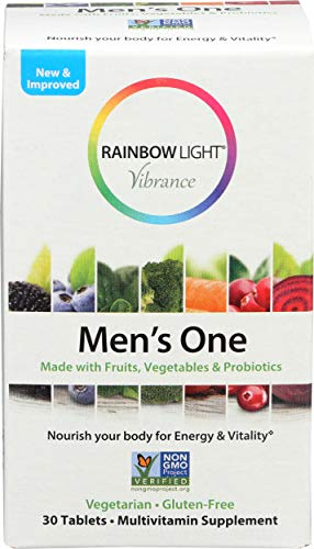 Rainbow Light, Multivitamin Mens One, 30 Count