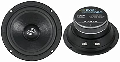 "6.5"" Car Audio Speaker Midrange – 300 Watt High Power Sealed Back Mid Range.."
