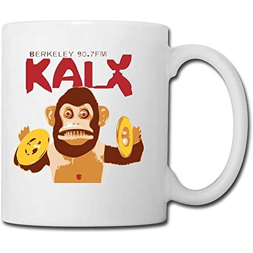 Kalx Berkeley T-Shirt,das Affe-Keramik-Becher-Geschenk zum Abschluss klatscht-11Oz