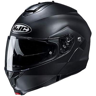 HJC Helmets C91 Men's Street Motorcycle Helmet - Semi-Flat Black / 2X-Large
