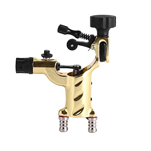 Yosoo Dragonfly Rotary Tattoo Machine Shader Tatoo Motor Gun Kits(Not Include Tattoo Needle) (Yellow)