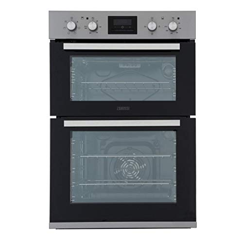 Zanussi ZOD35660XK Multifunction Electric Built In Double Oven - Stainless Steel