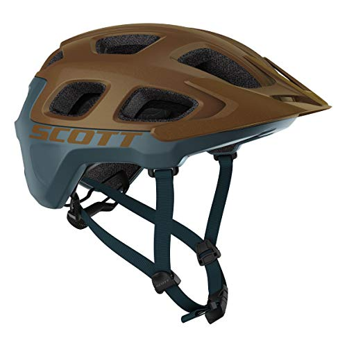 SCOTT 275202 Casco para Bicicleta, Unisex Adulto, Ginger BR Brn, S