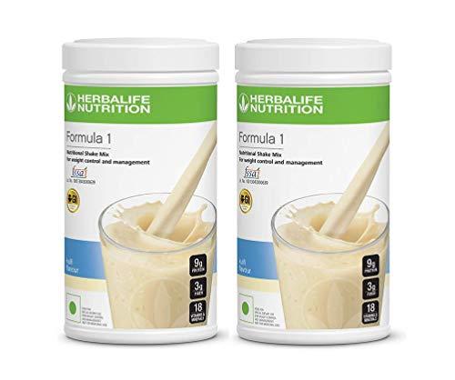 Herbalife Nutrition Formula 1 Shake 500 g Weight Loss -Kulfi Combo Pack of 2