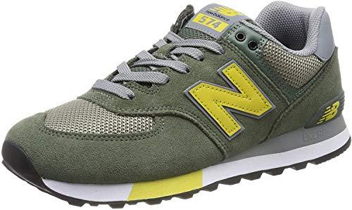 New Balance 574v2 Zapatillas Hombre, Verde (Green), 37.5 EU (4.5 UK)
