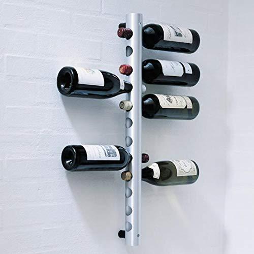 Shanbor Estantes para Vino, Estante para Vino montado en la Pared Soporte para Vino montado en la Pared, montado en la Pared para la Cocina del hogar
