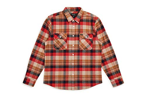 BRIXTON heren Apparel Bowery L/S flanel