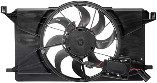 Dorman 621-606 Radiator Fan Assembly with Controller for Select Ford Focus Models