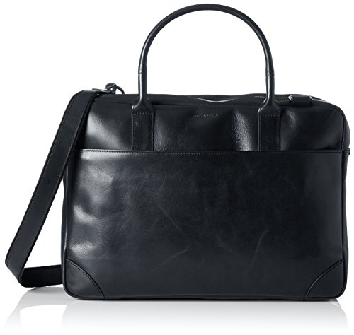 Royal RepubliQ Unisex-Erwachsene Explorer Double Laptop Tasche, Schwarz (Black), 12x29x41 cm