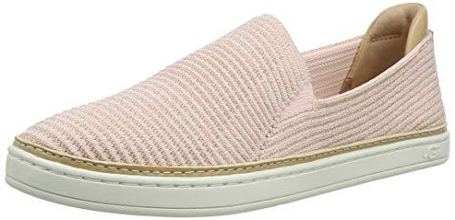 UGG Australia Damen Sammy Sneaker, Roségold Rippstrick, 37 EU