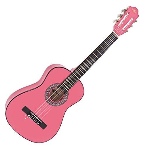Guitarra Espanola Junior de 1/2 de Gear4music Pink