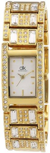 dk daniel khone Damen-Armbanduhr Woman Analog Quarz Alloy DKLA-90259-44M