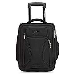 FITS UNDER AIRPLANE SEATS: this underseat carry on luggage with wheels is designed to fit under an airplane seat or in most airlines overhead compartments; perfect for the business traveler who likes to get on and off the plane with ease DEDICATED LA...