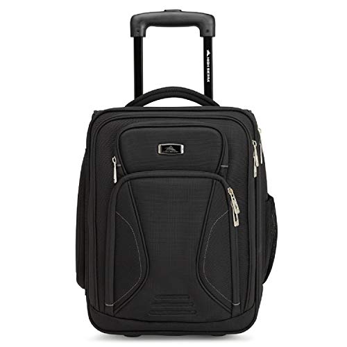 High Sierra Endeavor Wheeled Underseat Carry-On, One Size, Black