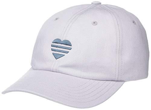 adidas Damen 3-Streifen Herz Hut, Damen, Mütze, 3 Stripe Heart Hat, Glory Grey,...