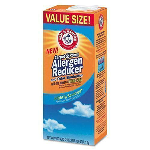 Arm & Hammer CDC 84113 42.6 oz Carpet And Room Allergen Reducer And Odor Eliminator, Shaker Box