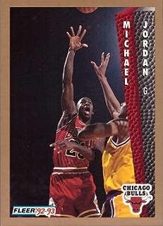 1992-93 Fleer #32 Michael Jordan Basketball Card