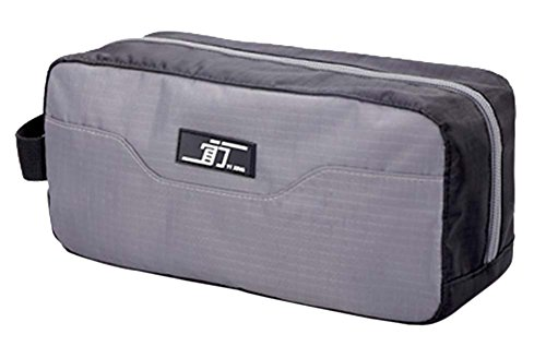 Créatif étanche pochette de Voyage Portable Wash Bag Cosmetic Bag, gris