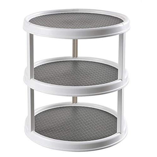mementoy Küchen Organizer, Multifunktionale rotierende Aufbewahrungsbox Gewürzdosenhalter für Küche und Speisekammer, leicht zu reinigen und zu warten