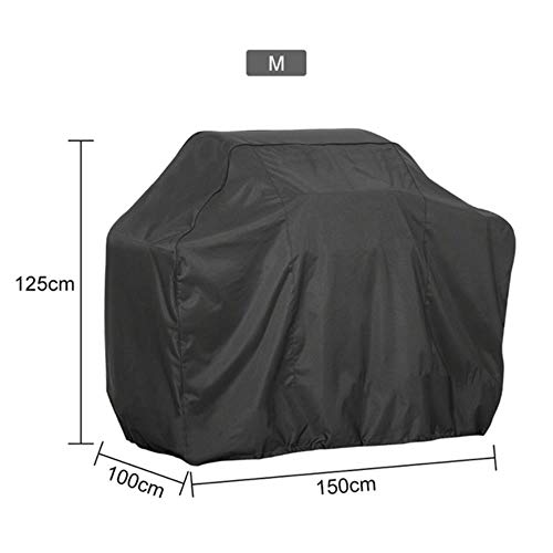 Jun BBQ Cover Waterproof Grill Cover Dust-Proof Cloth Cover Protection Square House Barbecue Accessories for Outdoor BBQ Supplier,M