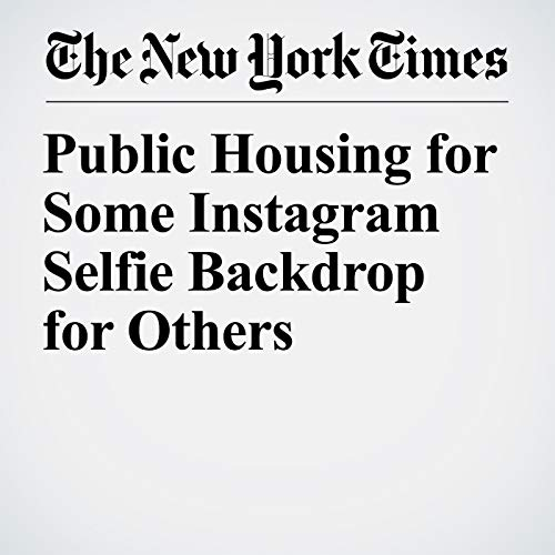 Public Housing for Some Instagram Selfie Backdrop for Others copertina