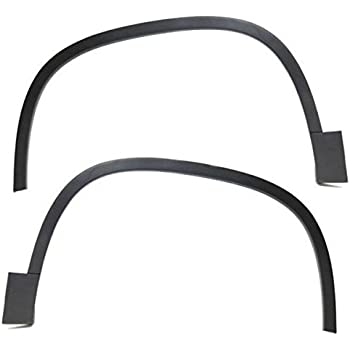 New OEM 97-01 Jeep Fender Flare Wheel Opening Molding Front Left Primed Drivers