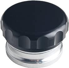 JGR 2 inches Aluminium Alloy Fuel Cap Weld On Filler Neck And Oil Tank Cap (Black, 2-inch)