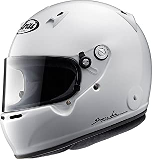 Arai Men's Full-face Style GP-5W M6 SAH-2015 Helmet (White, X-Large)
