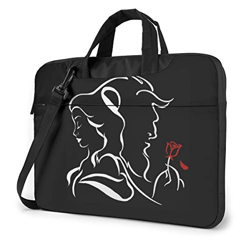 Beauty Within The Beast Laptop Sleeve Bag Carrying Case with Handle and Adjustable Shoulder Strap Business Travel Bag