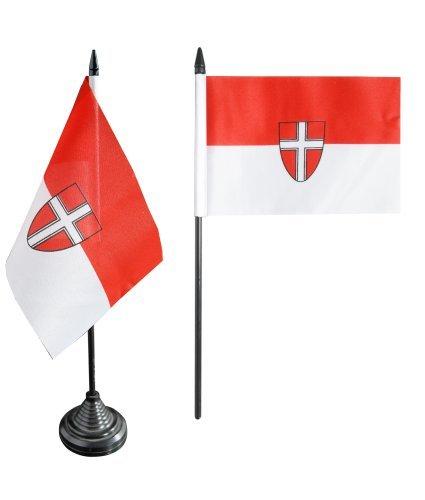 Flaggenfritze® Tischflagge Österreich Wien - 10 x 15 cm