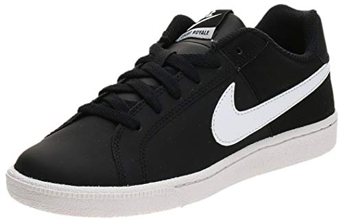Nike Damen Wmns Court Royale Tennisschuhe, Schwarz (Black/White 010), 38 EU