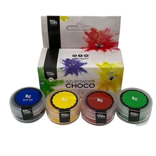 Set de 4 Colorantes para Chocolate - 4 x 3gr