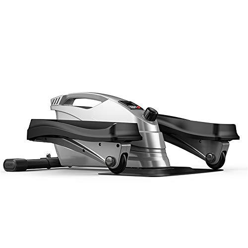 Kleine elliptische stepper Fitnessapparatuur voor thuis, bergbeklimmen stepper, stille magnetische controle vliegwiel, led datadisplay, revalidatietrainingstoestel, steppen, magere benen