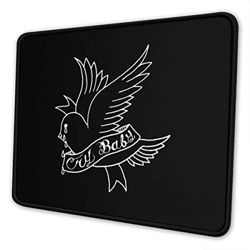 NOT Lil Peep Non-Slip Rubber Gaming Mouse Pad Rectangle Mouse Pads for Computers Laptop8.3 X 10.3 in