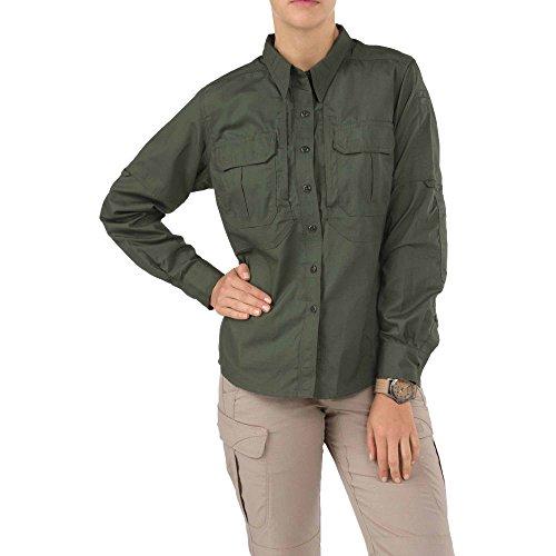 5.11 Tactical Women's Taclite PRO Long Sleeve Shirt, Chest Pocket, Teflon Finish, Style 62070