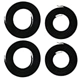 Zero Gravity Chair Replacement Cord Laces Antigravity Chair Replacement Cords Bungee Elastic Lawn Chair Cord Patio Recliner Chair Repair Cord Kit Nylon Stretch Cord for Outdoor, Lounge Chair - 4 Cords