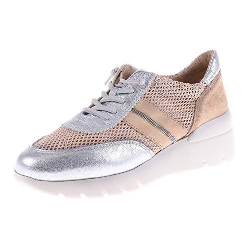 Hispanitas Formentera V9 Silver Rose HV98641C005 - Zapatos con Cordones para Mujer