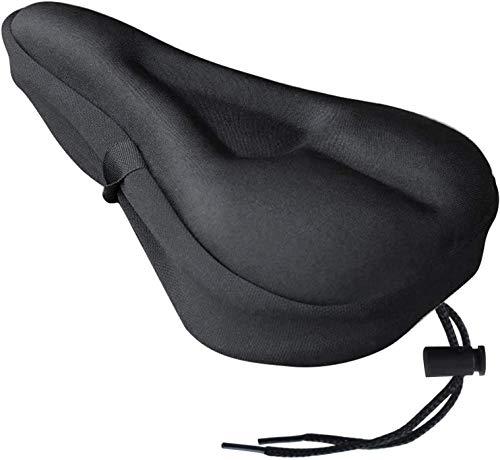 TUSIN Bike Seat Cover, Soft Gel Seat Cushion I Water & Dust Proof Case for Bike Saddle 11 X 7 Inch