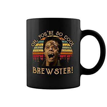 You re So Cool Brewster Ceramic Coffee Mug Tea Cup  Black 11oz