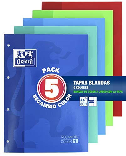 Oxford Classic - Pack De 5 Recambios Color 1 Encolados 80 Ho