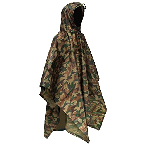 Euyecety Poncho de Lluvia Impermeable,3...