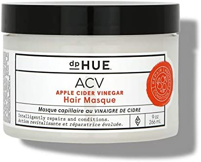 dpHUE Apple Cider Vinegar Hair Masque 9 oz Deep Conditioning Hair Treatment for Dry Damaged product image