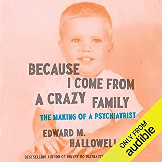 Because I Come from a Crazy Family audiobook cover art