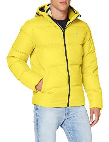 Tommy Hilfiger TJM Essential Down Jacket Chaqueta, Amarillo Valle, XL para Hombre