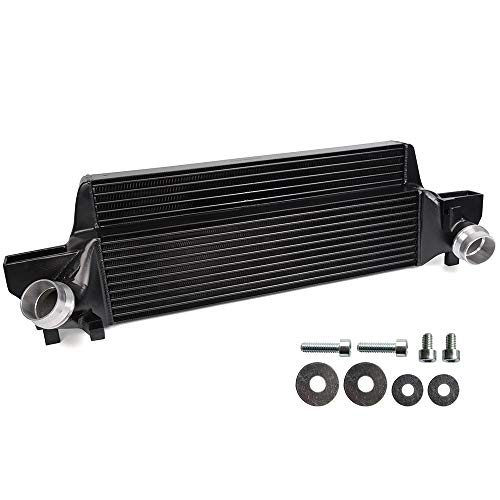 New Performance Front Mount Intercooler Kit Compatible For BMW Mini Cooper F54/F55/F56 Black